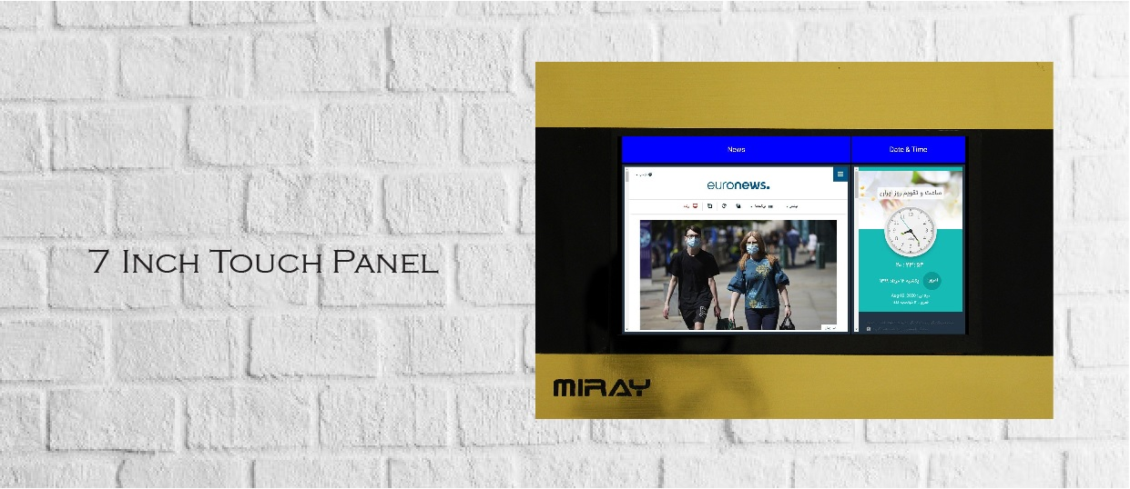 SEVEN-INCH-MIRAY-TOUCH-PANEL
